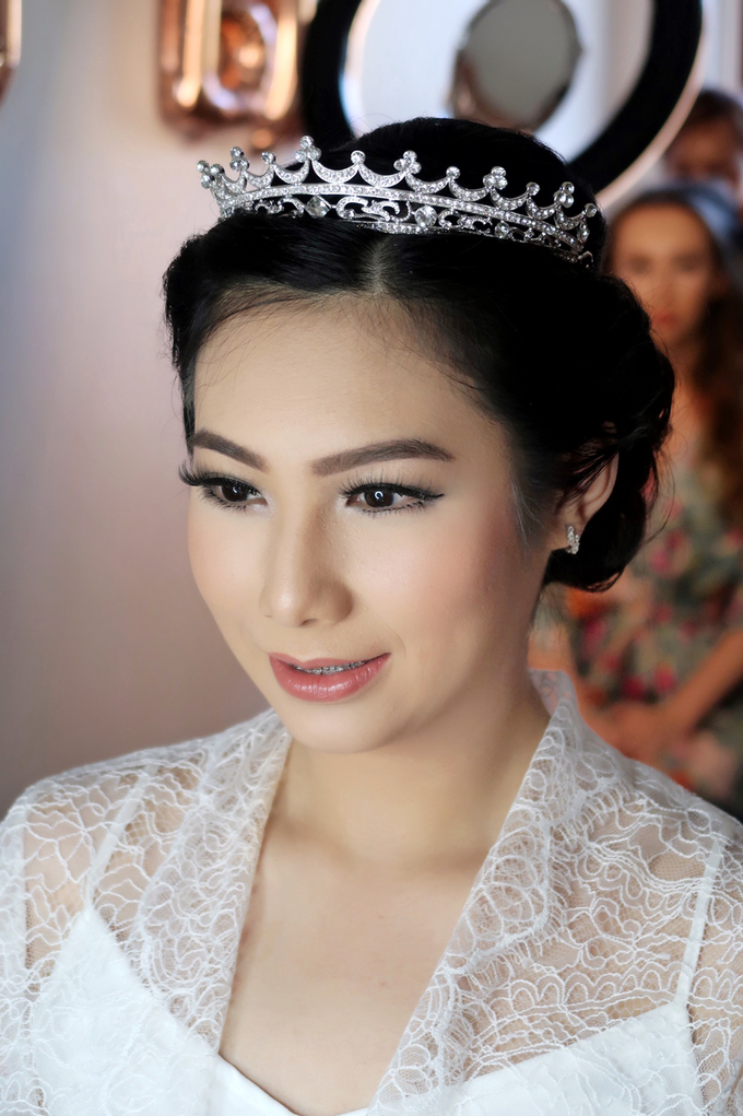 Bride of the day (Mega Silvana) by Felicaang Makeup Artist - 004