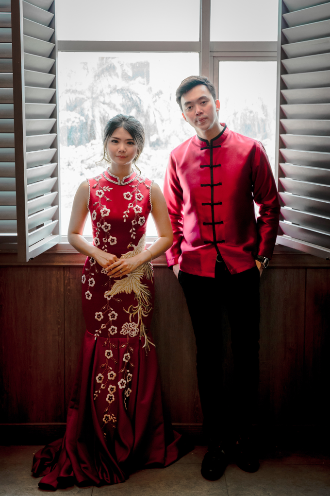 Sangjit Day - Jhon & Felica by Felicaang Makeup Artist - 002