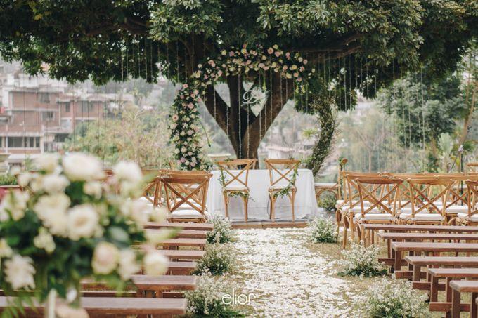 The Wedding Of Felicia & Deny by Elior Design - 003