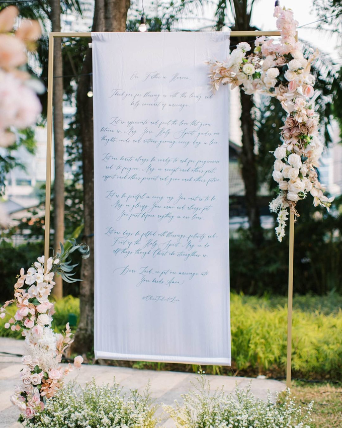 Blush Pink Open Space Wedding by FIVE Seasons WO - 009