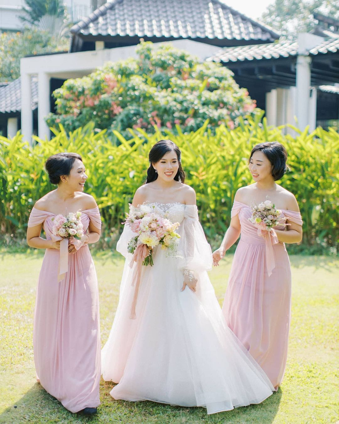 Blush Pink Open Space Wedding by FIVE Seasons WO - 014