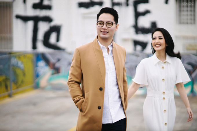 Peace and Serenity -  The Prewedding of Felix and Valencia by Will by Axioo - 004