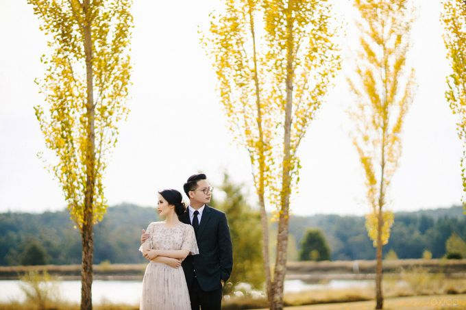 Peace and Serenity -  The Prewedding of Felix and Valencia by Will by Axioo - 027