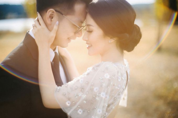 Peace and Serenity -  The Prewedding of Felix and Valencia by Will by Axioo - 029
