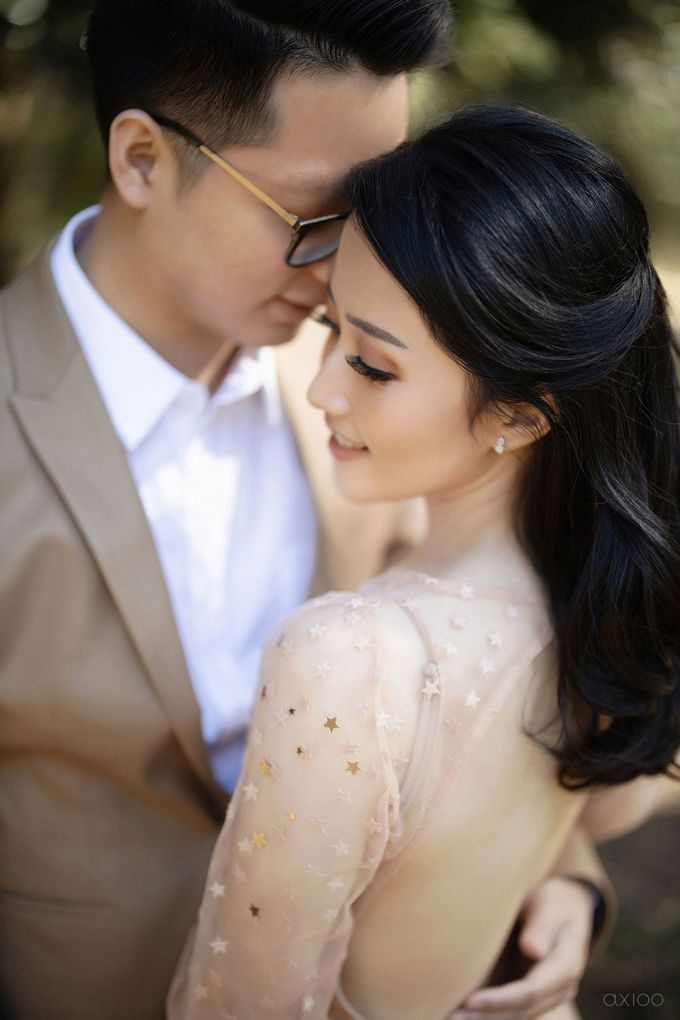 Peace and Serenity -  The Prewedding of Felix and Valencia by Will by Axioo - 036