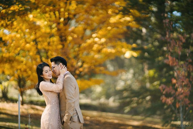 Peace and Serenity -  The Prewedding of Felix and Valencia by Will by Axioo - 039