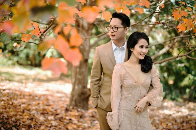 Peace and Serenity -  The Prewedding of Felix and Valencia by Will by Axioo - 041