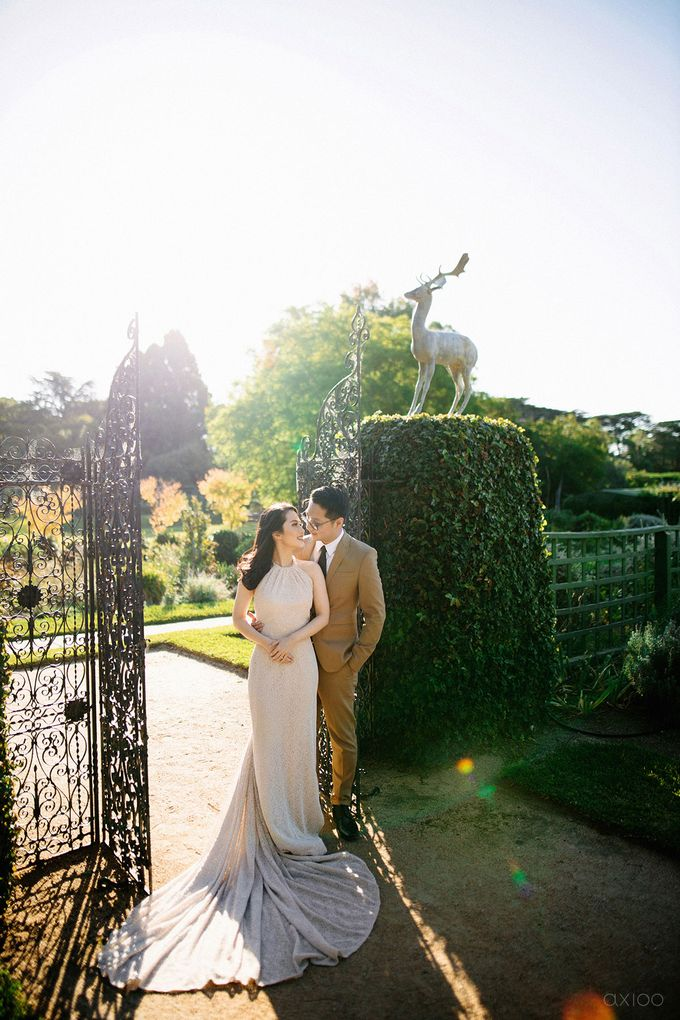 Peace and Serenity -  The Prewedding of Felix and Valencia by Will by Axioo - 044