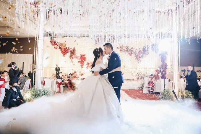 William & Selvi Wedding at Hilton Hotel by PRIDE Organizer - 031
