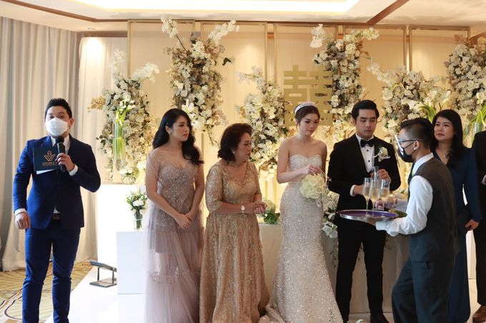 New Normal Entertainment Wedding at Westin Jakarta by Double V Entertainment by Double V Entertainment - 018