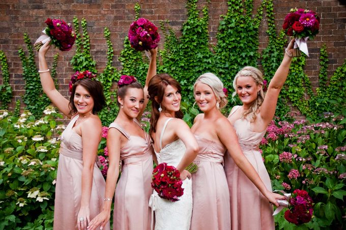 Bridal Party by Affair with George  Florals & Event Styling - 009