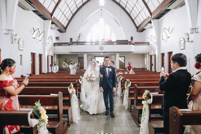 William & Selvi Wedding at Hilton Hotel by PRIDE Organizer - 015