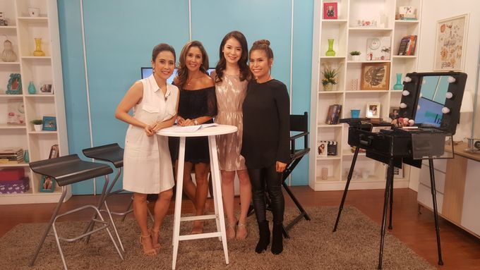 Makeup Demo For Valentines Day On Real Talk Show by Makeup by Marjorie - 004