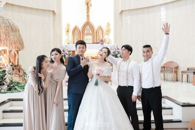 The wedding of Ameng & Intan by Amorphoto - 010