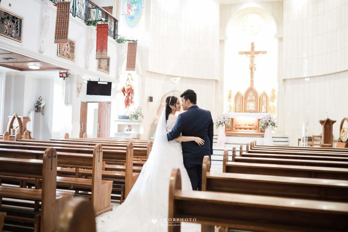 The wedding of Ameng & Intan by Amorphoto - 009