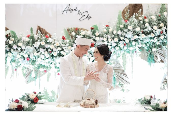The Wedding of  Aisyah & Eky by Amorphoto - 013