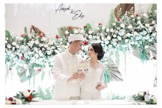 The Wedding of  Aisyah & Eky by Amorphoto - 015