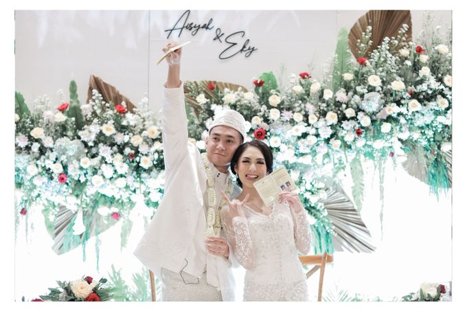 The Wedding of  Aisyah & Eky by Amorphoto - 016