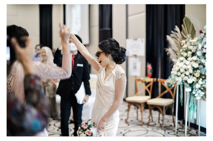 The Wedding of  Aisyah & Eky by Amorphoto - 018