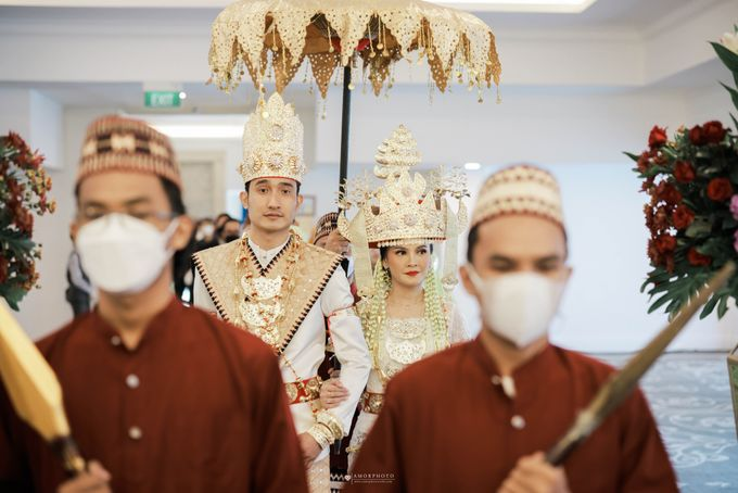 The Wedding of Tania & Kemal by THE TRIBRATA Darmawangsa Jakarta - 002