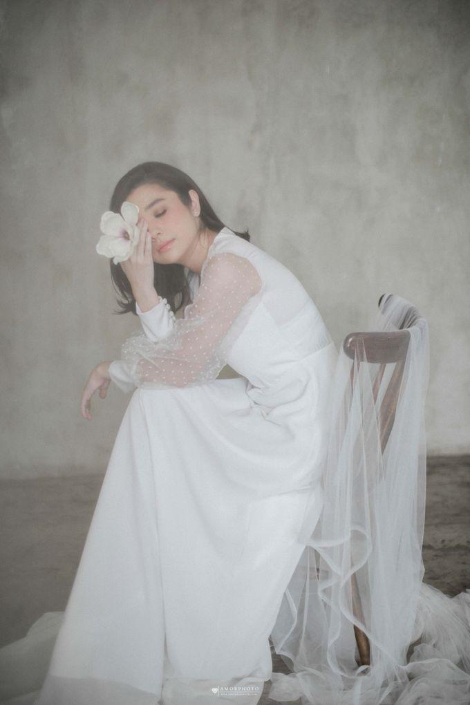 Gown Amanda Rigby by Amorphoto - 008