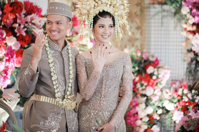 The wedding of Nazela & Rivali by Amorphoto - 017