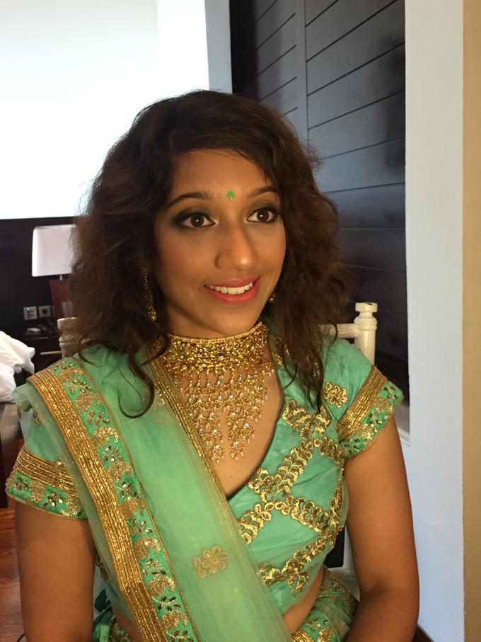 India Wedding Make Over by Fifi Huang by Fifi Huang Makeup - 002