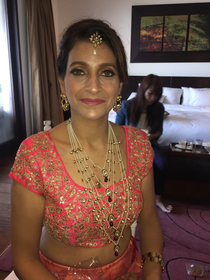India Wedding Make Over by Fifi Huang by Fifi Huang Makeup - 003