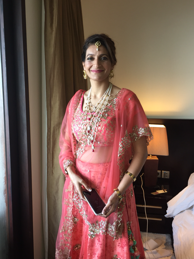 India Wedding Make Over by Fifi Huang by Fifi Huang Makeup - 004