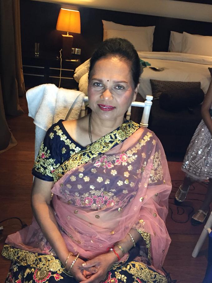 India Wedding Make Over by Fifi Huang by Fifi Huang Makeup - 006