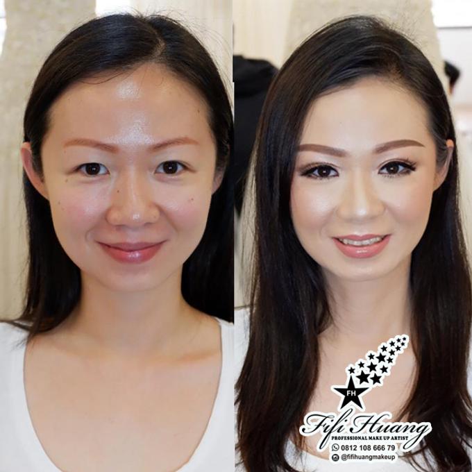 Wedding Make Up by Fifi Huang by Fifi Huang Makeup - 001