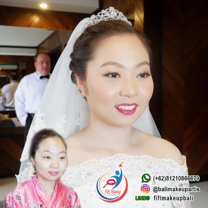THE WEDDING OF Mr. DAVID & Ms. SUN LE by Fifi Huang Makeup - 001