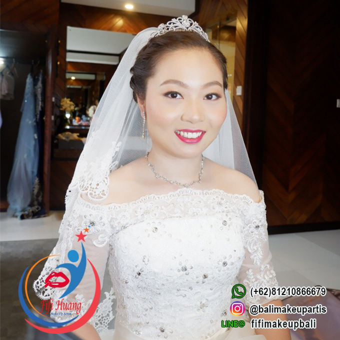 THE WEDDING OF Mr. DAVID & Ms. SUN LE by Fifi Huang Makeup - 002