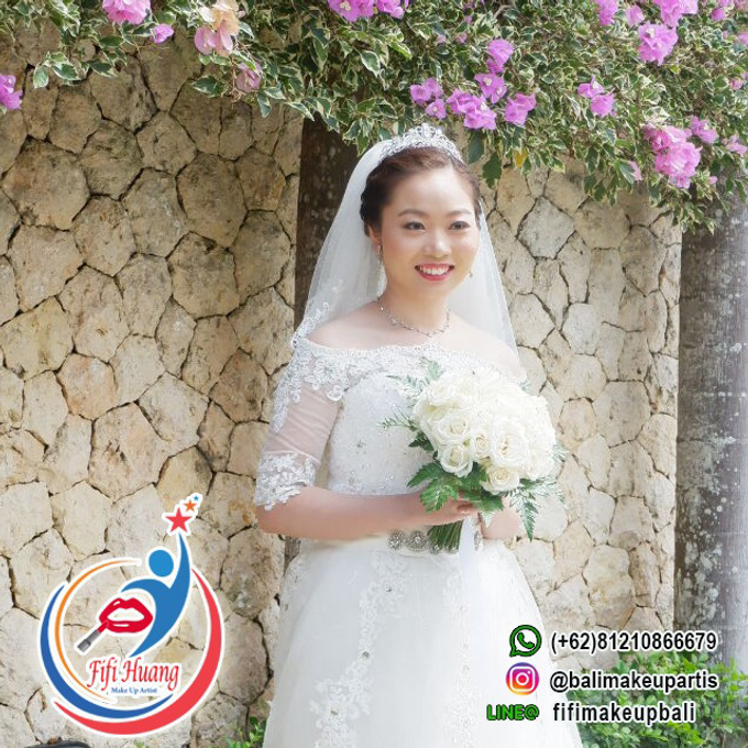 THE WEDDING OF Mr. DAVID & Ms. SUN LE by Fifi Huang Makeup - 007