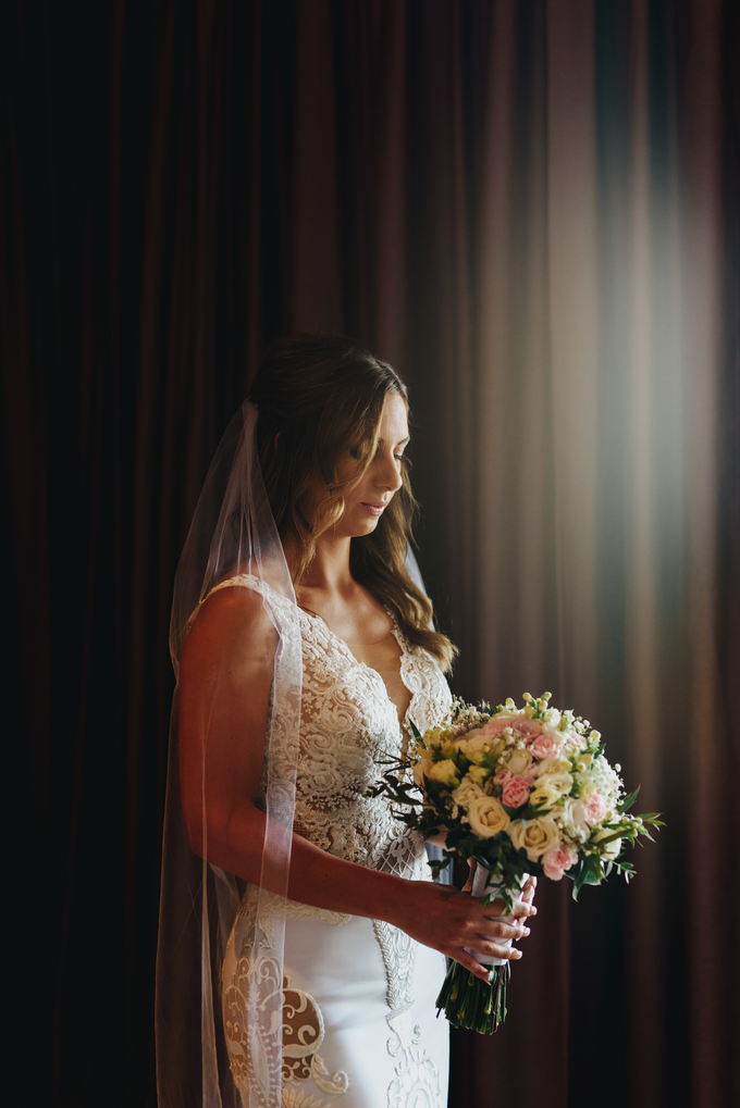Sabrina Fellas' Wedding Day by Fikri Halim Makeup Artist - 001