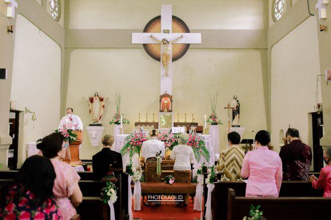 Holy Matrimony / Pemberkatan for Yinta + Adi by Photolagi.id - 016