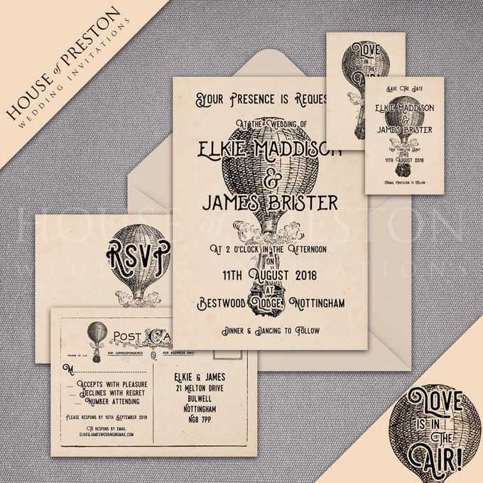 Wedding Invitations by House Of Preston - 005