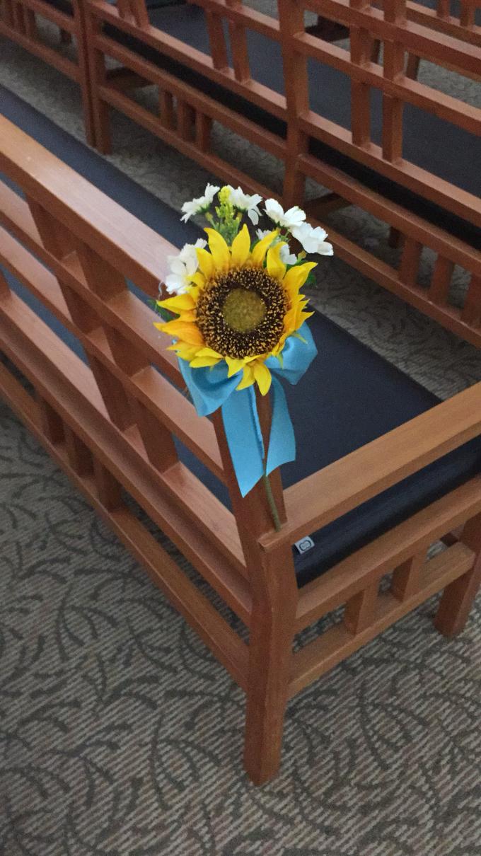 Sunflowers wedding by ilmare Wedding - 007