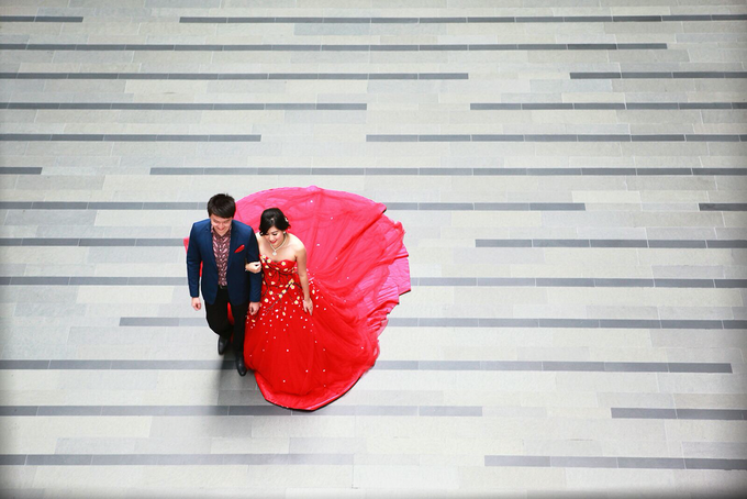 Fendi & Shella Pre- Wedding Shoot by YRegina Makeup - 006