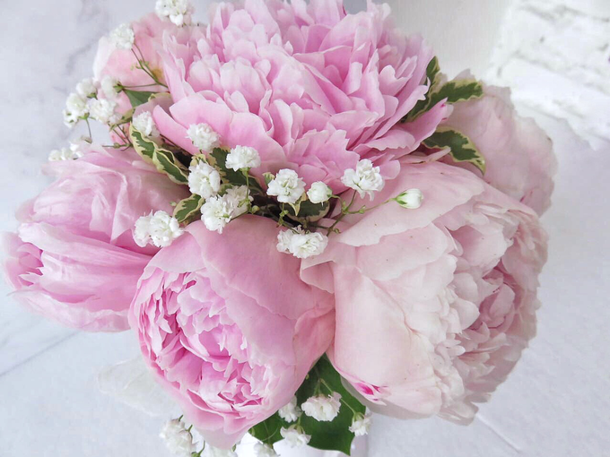 The blush of peonies  by Royal Petals - 006