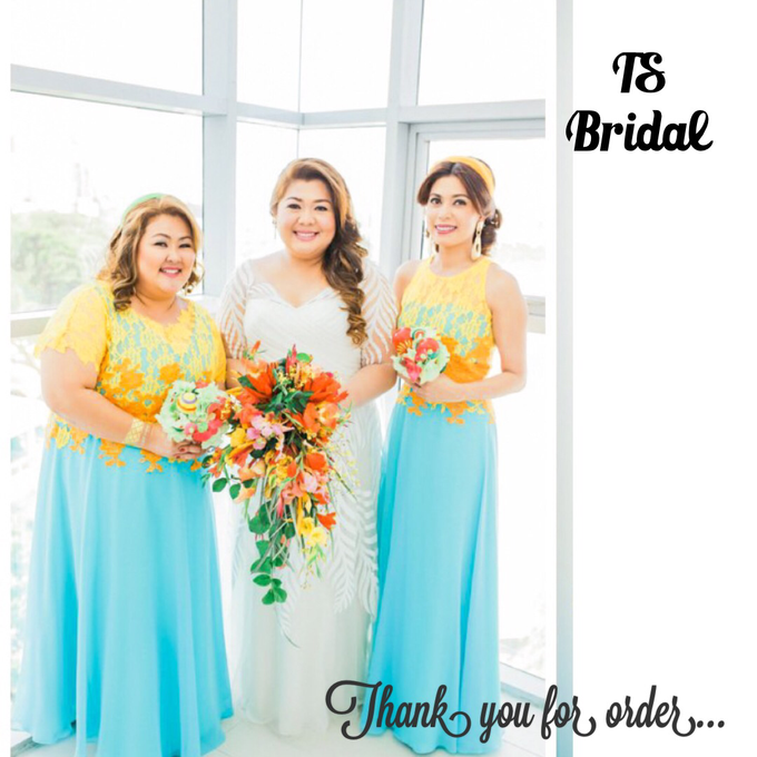 PLUS SIZE WEDDING DRESS by TS BRIDAL BALI - 016