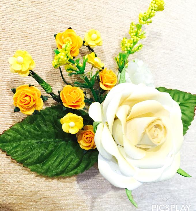Handmade Flower Corsage by Wedding Needs - 007