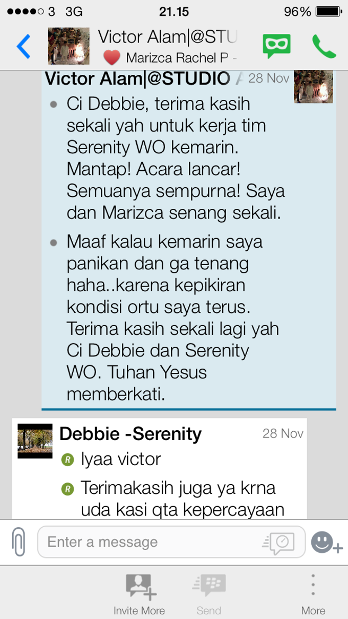 Testimoni from our Lovely Groom n Bride  by Serenity wedding organizer - 013