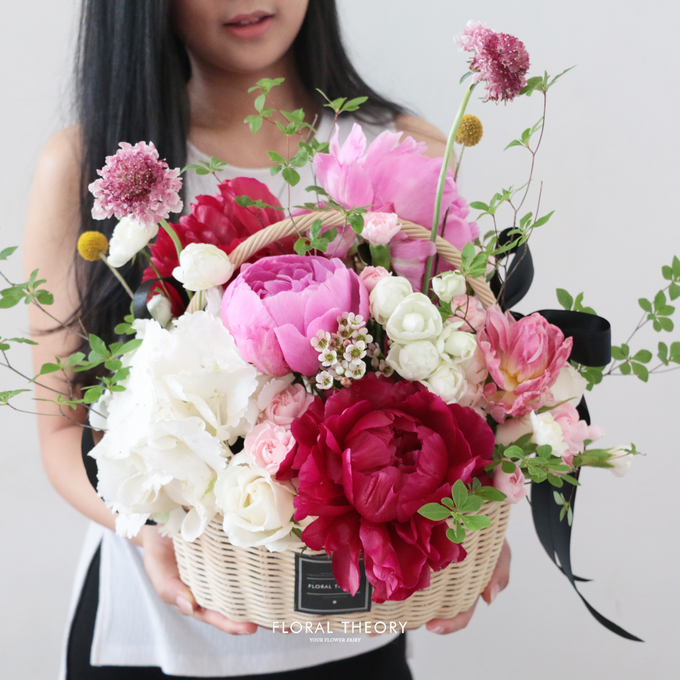 Whimsical garden basket by Floral Theory - 001