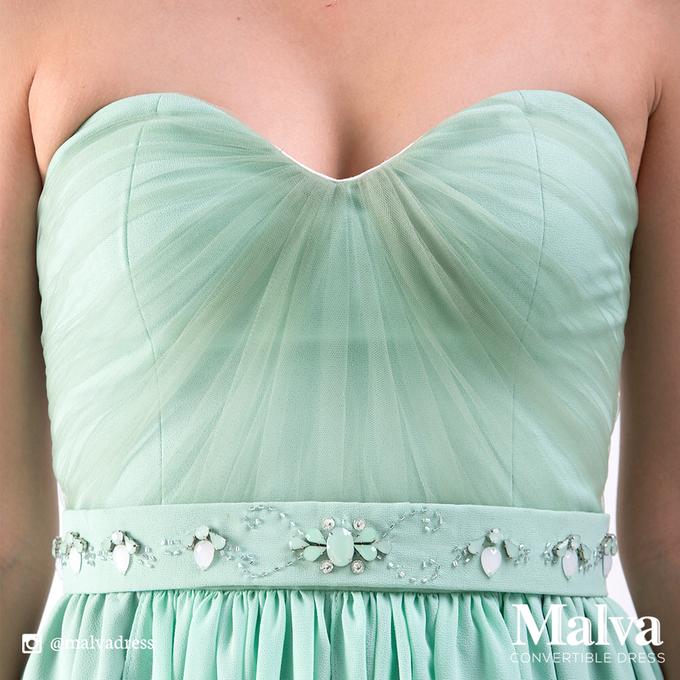 Shell Dress by MALVA Bridesmaids - 007