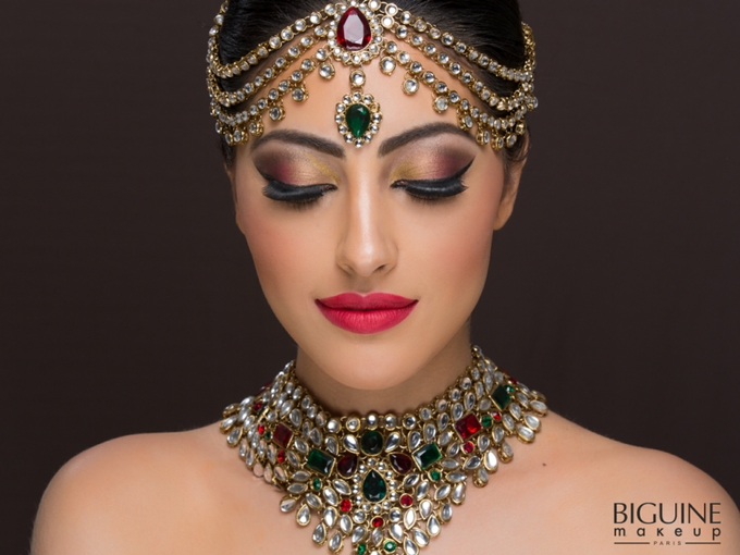 Indian bridal  by MakeUpArtByAby - 001