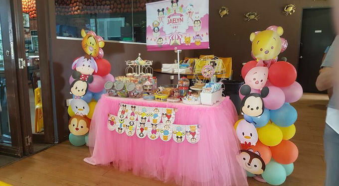 Tsum tsum birthday party by ilmare Wedding - 008