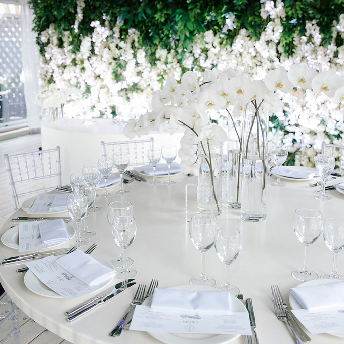 White and green wedding K&K by Maria German decor - 007