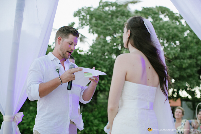 Amanda & Nicholas Wedding by Courtyard by Marriott Bali Nusa Dua - 029