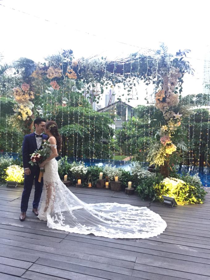 Edwin Steffi Wedding Day by Serenity wedding organizer - 004